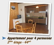 Appartement 4pers - 44m3