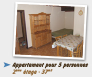 Appartement 5pers - 37m3